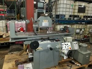 1 Used Sharp Model Sh 1124 Automatic Hydraulic Surface Grinder New 1990 s