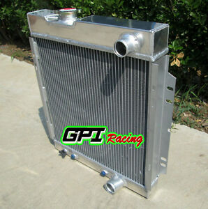 3 Row Aluminum Radiator For Ford Mustang V8 289 302 Windsor 1964 1966 1965