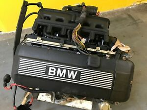 2001 2003 Bmw E46 330ci Coupe 3 0l 6 Cylinder Engine Block Head M54 123k Oem