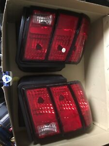 Fit 1999 2004 Ford Mustang Tail Lights Right And Left Side Factory Take Offs