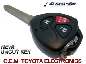 10 15 Toyota 4runner Key Keyless Entry Remote Fob Hyq12bby G Chip 3 Button Oe