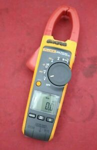 Wireless True rms 375 Ac dc Clamp Meter W Fluke Connect Compatibility And Vfd