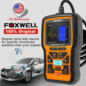 Universal Check Engine Obd2 Car Code Reader Foxwell Nt301 Diagnostic Scan Tool