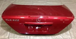 2001 2004 Mercedes Benz Slk R170 Trunk Lid Panel Firemist Red 170750097528 Sk101