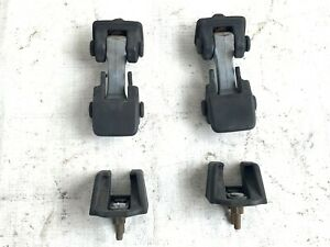 1997 2006 Jeep Wrangler Tj Hood Lock Latches Anchors Set