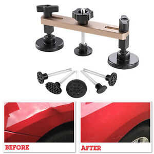 Paintless Dent Repair Pops A Dent Pulling Bridge Auto Repair Tools