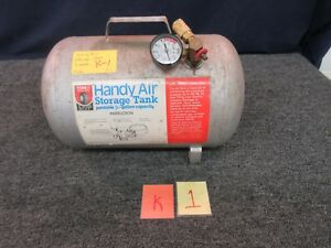 Handy Air Storage Tank Portable 5 Gallon Tire Wheel Roadside Service W 1005 Shop
