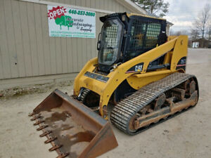 2006 Caterpillar 267b Track Skid Steer Loader 1906 Hours