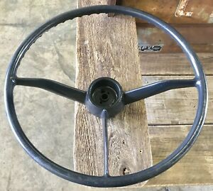 Nos 1957 1958 1959 Chevrolet Gmc Pickup Truck 3 Spoke Steering Wheel 57 58 59