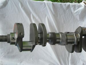1968 1969 Chevy 302 Z28 3941178 1178 Forged Big Journal Crankshaft 020 020