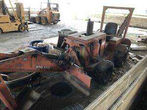 Ditch Witch Trencher With Backhoe