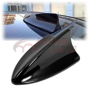 Car Shark Fin Top Roof Decorative Dummy Antenna Aerial Black For Toyota Camry Fm