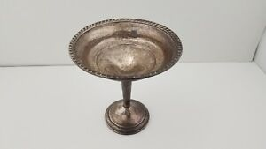 Sterling Silver Weighted Compote