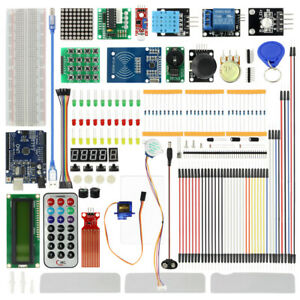 New Starter Kit For Arduino Uno R3 Self grouping Module With Retail Box