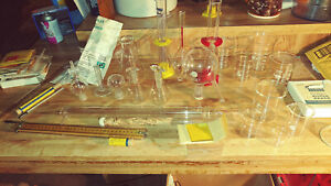 chemistry Laboratory Glassware No Kits Or In Any Particular Order