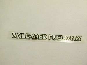 Unleaded Fuel Decal For Toyota Land Cruiser Fj40 Fj60 Sticker