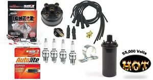 Electronic Ignition Tune Up Kit Hot Coil Ih Farmall 100 130 140 Tractor