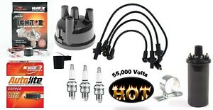 Electronic Ignition Tune Up Kit Hot Coil Ford 2000 3000 4000 3 Cyl Tractors
