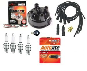 Electronic Ignition Kit John Deere 3010 3020 4 Cyl Tractor W Delco Distributor