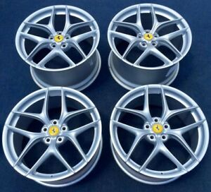 Ferrari F12 Oem Genuine Forged Premium deluxe Wheels rims In Silver Fits Ff 599
