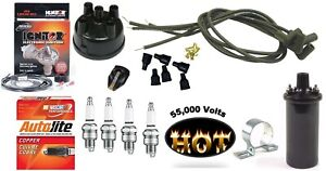 Electronic Ignition Kit Hot Coil Ford 8n Tractor Side Mount Distributor
