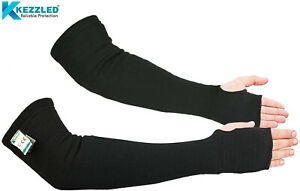 Kevlar Sleeves Heat Scratch And Cut Resistant Arm Sleeves With Thumb Holes 1