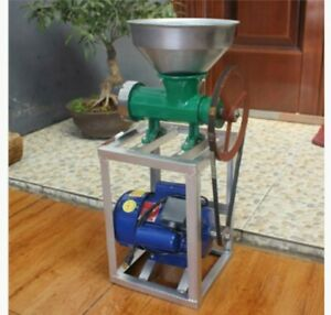 New 120v Commercial Electric Chicken Meat Bone Grinder With Stand And Motorlarge