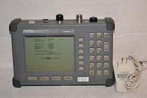 Calibrated Anritsu S251c Site Master Cable Analyzer W Option 10b Bias Tee