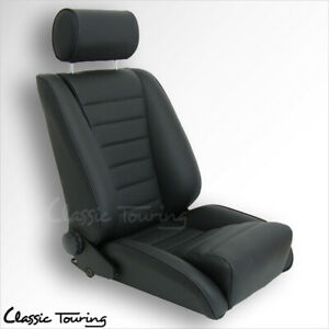 1974 84 Porsche 911 Lemans Sport Seat All Leather With Perforated Inserts