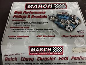 Ford 302 351w March Billet Drive Pulley Set