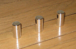 Hurst Olds Lightning Rod Aluminum Shifter Button Shift Set