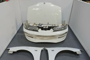 Jdm Integra Dc2 Type R Front End With Bomex Bumper Hid One Piece Headlights Etc