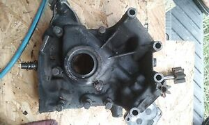 Chevrolet Corvair Monza Oil Pump Housing From 1964 Hi Po 7061zf Engine Chevy