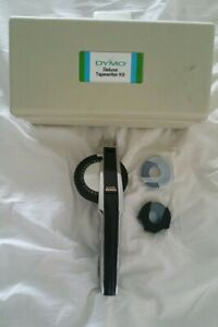 Dymo 1570 Deluxe Tapewriter Kit Embossed Label Maker W Carrying Case And Tapes