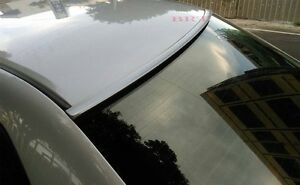 Painted Silver Color For 2007 2008 Mazda 3 Sedan Rear Window Roof Spoiler
