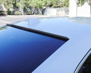White Painted For 2007 2008 Mazda 3 Rear Window Roof Spoiler