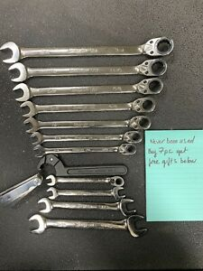 Snap On Ratcheting Wrench Set Standard And Free Gifts