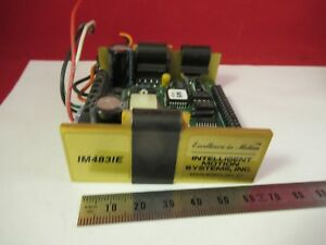 Im4831e Intelligent Motion Systems Electronic Controller Positioning