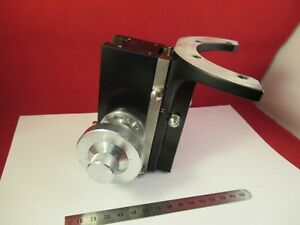 Zeiss Germany Pol Stage Micrometer Microscope Part Optics As Pictured