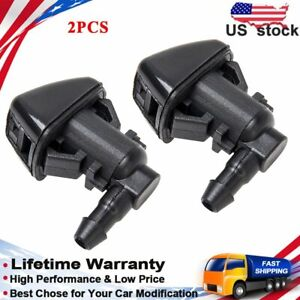 Windshield Wiper Washer Jet Spray Nozzle For Ford F250 F350 F450 F550 2008 2010