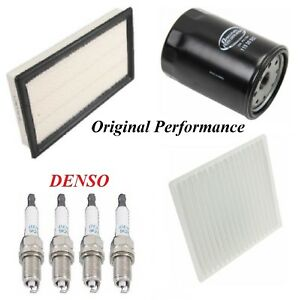 Tune Up Kit Air Cabin Oil Filters Spark Plugs For Ford Edge L4 2 0l 2012 2015