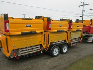 2017 Ford F250 F350 New Take Off Short Bed Box 6 9 Nto Shortbed Yellow