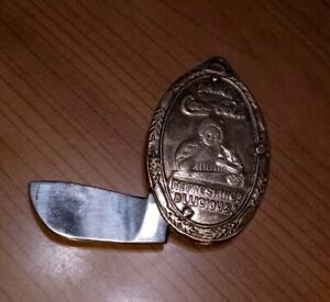 Antique Early 1900's Coca-Cola Pocket Knife Key Fob Advertising Sign Soda Pop