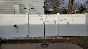 Vintage Mid Century Modern Over Head Floor Lamp 5 Head Ufo Style Huge Look