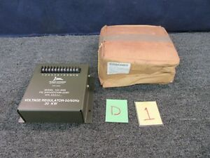 Libby Power Transformer Generator Voltage Box Regulator 30 Kw 122 3055 Military