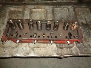 Ford Tractor Jubilee 600 640 Engine Head W valves 134 Cu Engine
