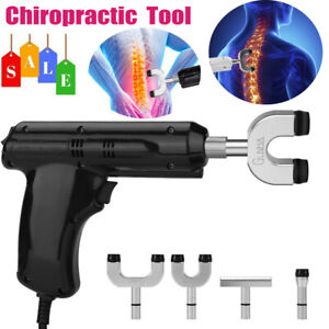 2019 Chiropractic Adjusting Tool Gun Therapy Spine Activator Correction Massager