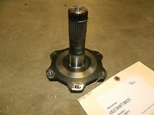 Aam Oem Gm 9 25ifs Axle Shaft Lh 4wd 2007 2013 Chevy 4x4 Front Stub 2500 3500