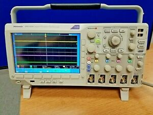 Tektronix Dpo3014 100 Mhz 4 ch Digital Phosphor Oscilloscope Ships From The Usa