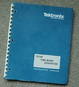 Tektronix Tg501 Service Manual All Schematic Parts 070 1576 01